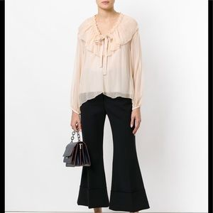NWOT See By Chloé Ruffle Blouse